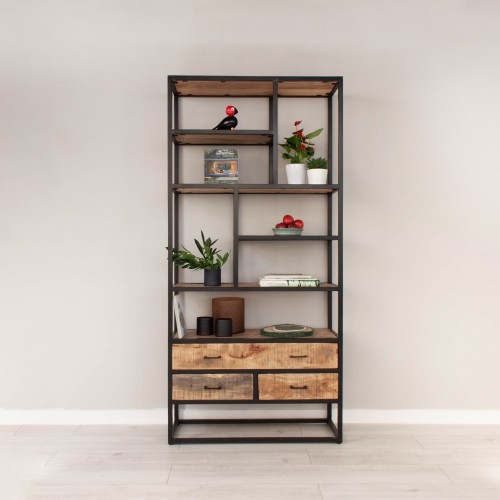 Bookcase with 3 Drawers MANS011