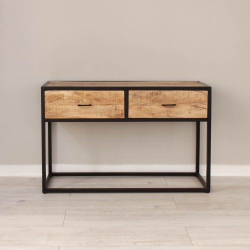 2 Drawer Console Table MANS009