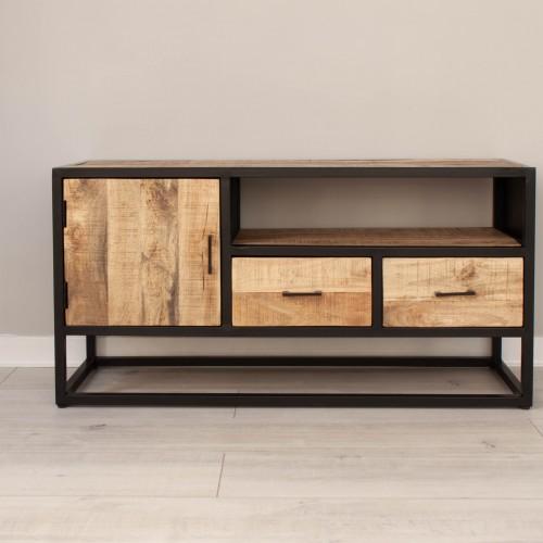 TV Unit 1 Cupboard 2 Drawer MANS006