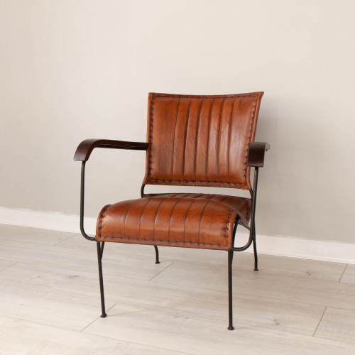Leather Lounge Chair KESE003