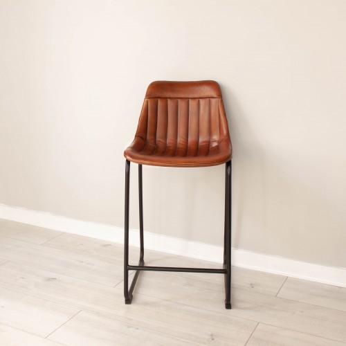Leather Bar Stool KESE004