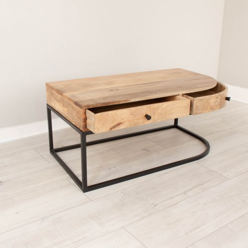 Coffee Table With 2 Drawers PENN003