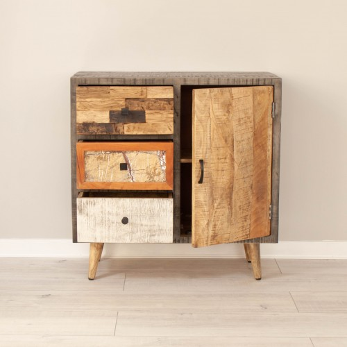 Sideboard 3 Drawers 1 Door CURI003