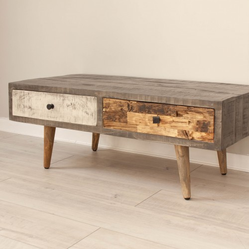 Console Table 2 Drawers CURI008