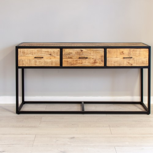 2 Drawer Large Console Table MANS010