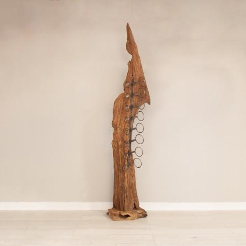 Root Sculpture 8 Wine Holder MJ204