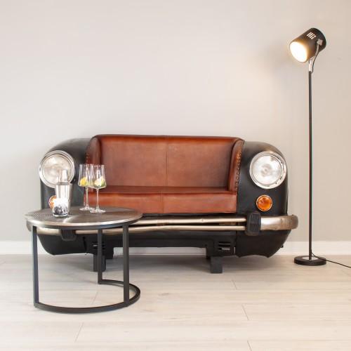 Ambassador Car Sofa Black EDGE012