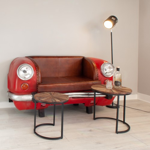 Ambassador Car Sofa Red EDGE011