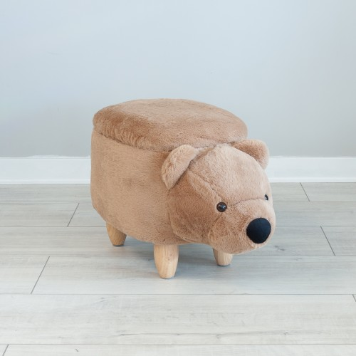 Storage Footstool Bear 26020